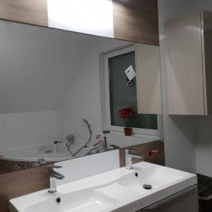 lustro na wymiar do łazienki